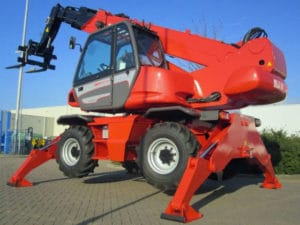 The Manitou MRT 1840. Cool machine!