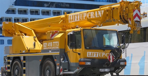 Liebherr crane for hire Cape Town