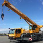 40 ton Liebherr crane for hire - cape town