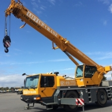40 ton Liebherr crane for hire - cape town