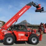 Manitou MT 1840 SL telehandler mobile crane for hire in Cape Town