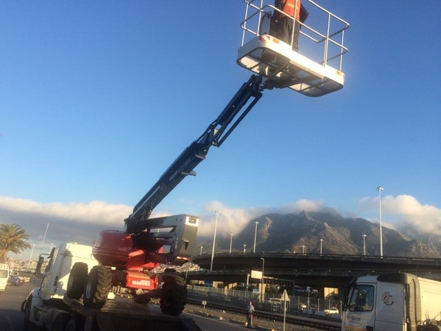 Manitou ATJ boom lift cherrypicker for sale and hire, Cape Town