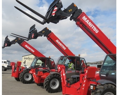 Manitou mobile crane telehandlers sales, hire and service