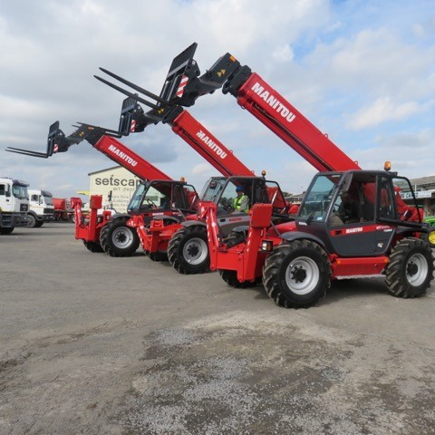 Manitou mobile crane for sale or hire Cape Town