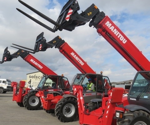 Manitou mobile crane sales, hire, service
