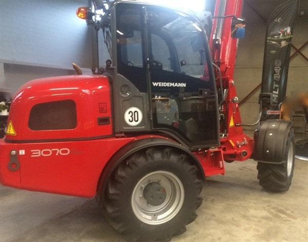 Weidemann boom lift for sale in cape town