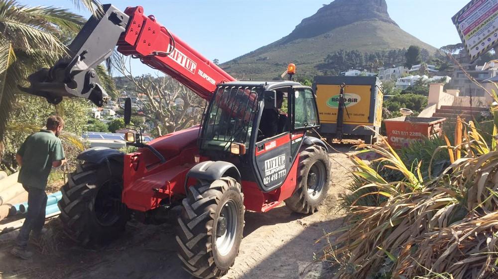 Mobile crane for hire cape town